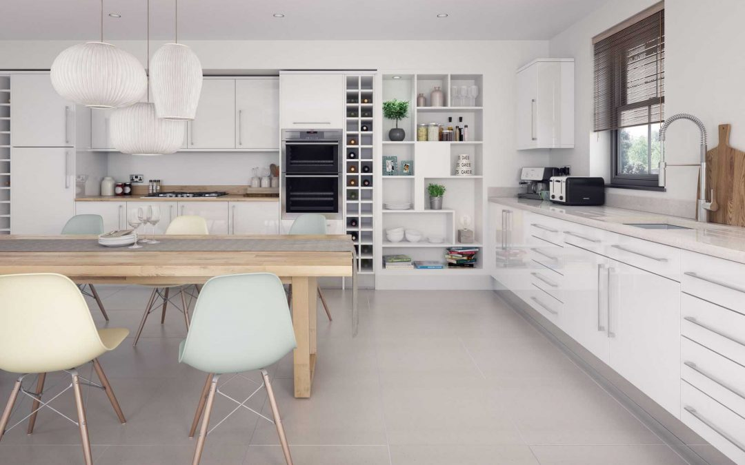 How to design a new kitchen